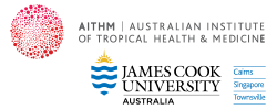 Major sponsor, the Australian Institute of Tropical Health & Medicine, James Cook University Australia