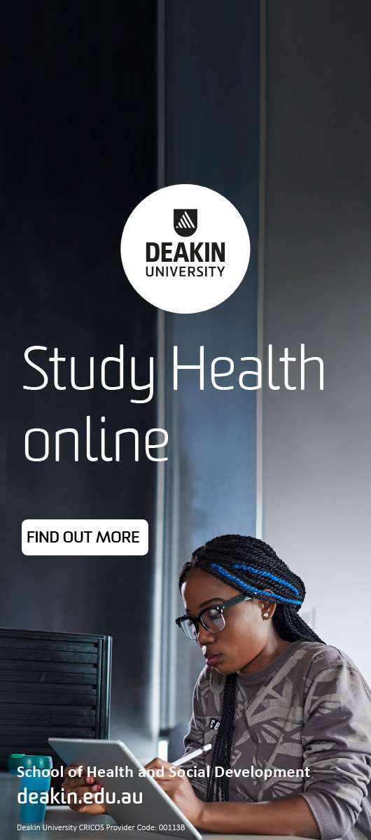 Deakin University Study Health Online Find out more