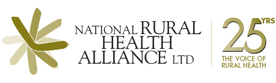 National Rural Health Alliance 25 YRS The Voice of Rural Health