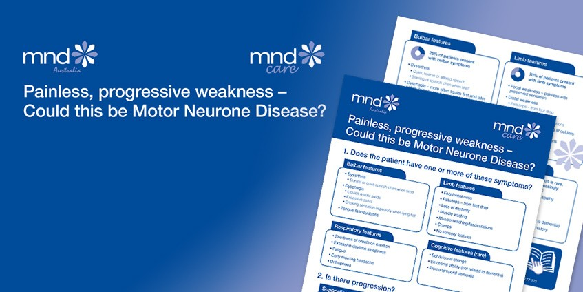 Painless, progressive weakness – Could this be motor neurone disease?