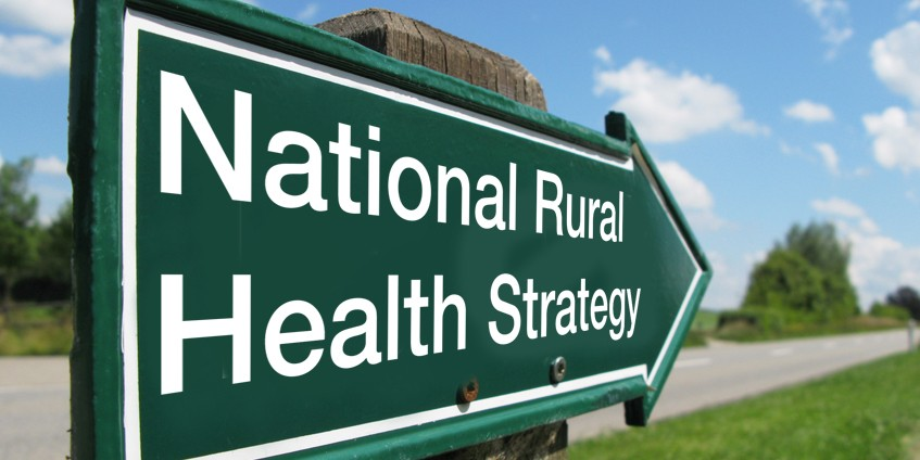 National Rural Health Strategy sign