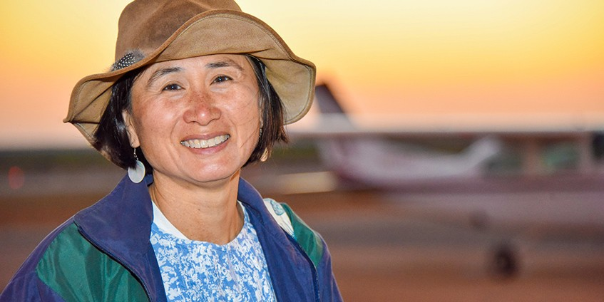 Professor Donna Mak started the Kimberley Remote Area Health Placement Program in 2006