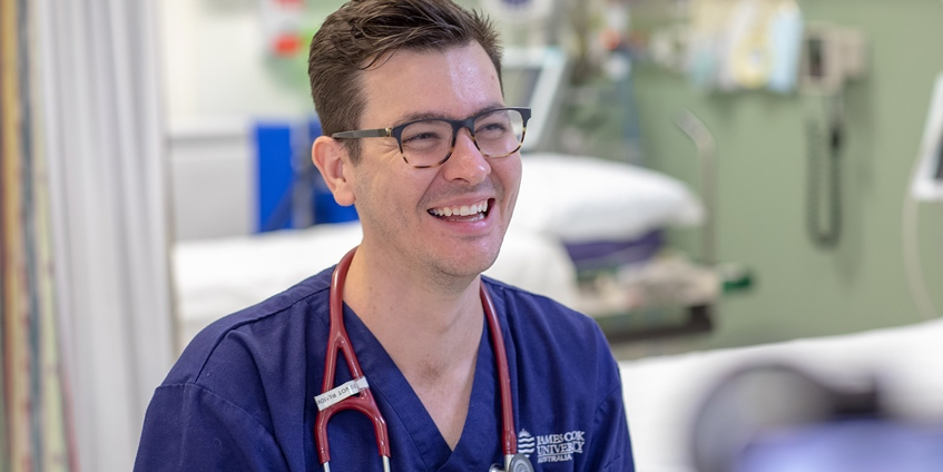 Dr Michael McLaughlin decided to pursue a career as a Rural Generalist after his clinical placements as a medical student