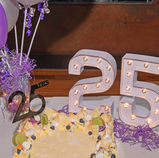 National Rural Health Alliance's 25th anniversary cake