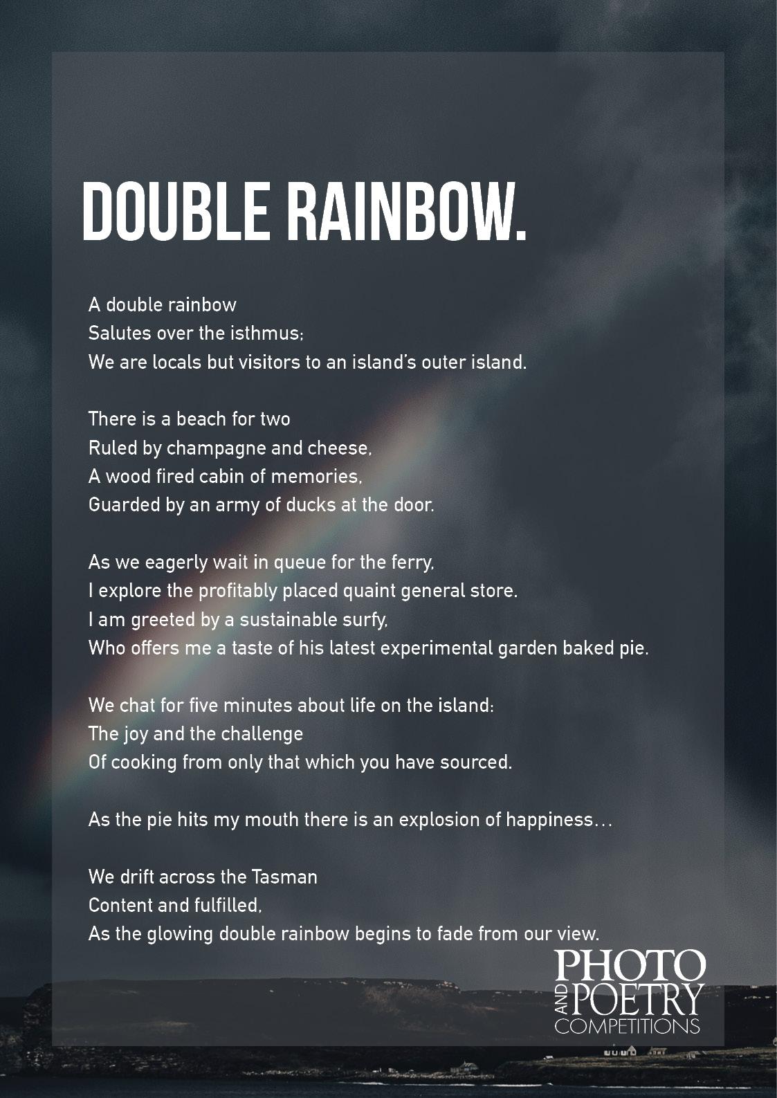 Tristan Kelly - Double Rainbow
