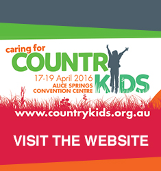 Caring for Country Kids Conference was held last April, 2016