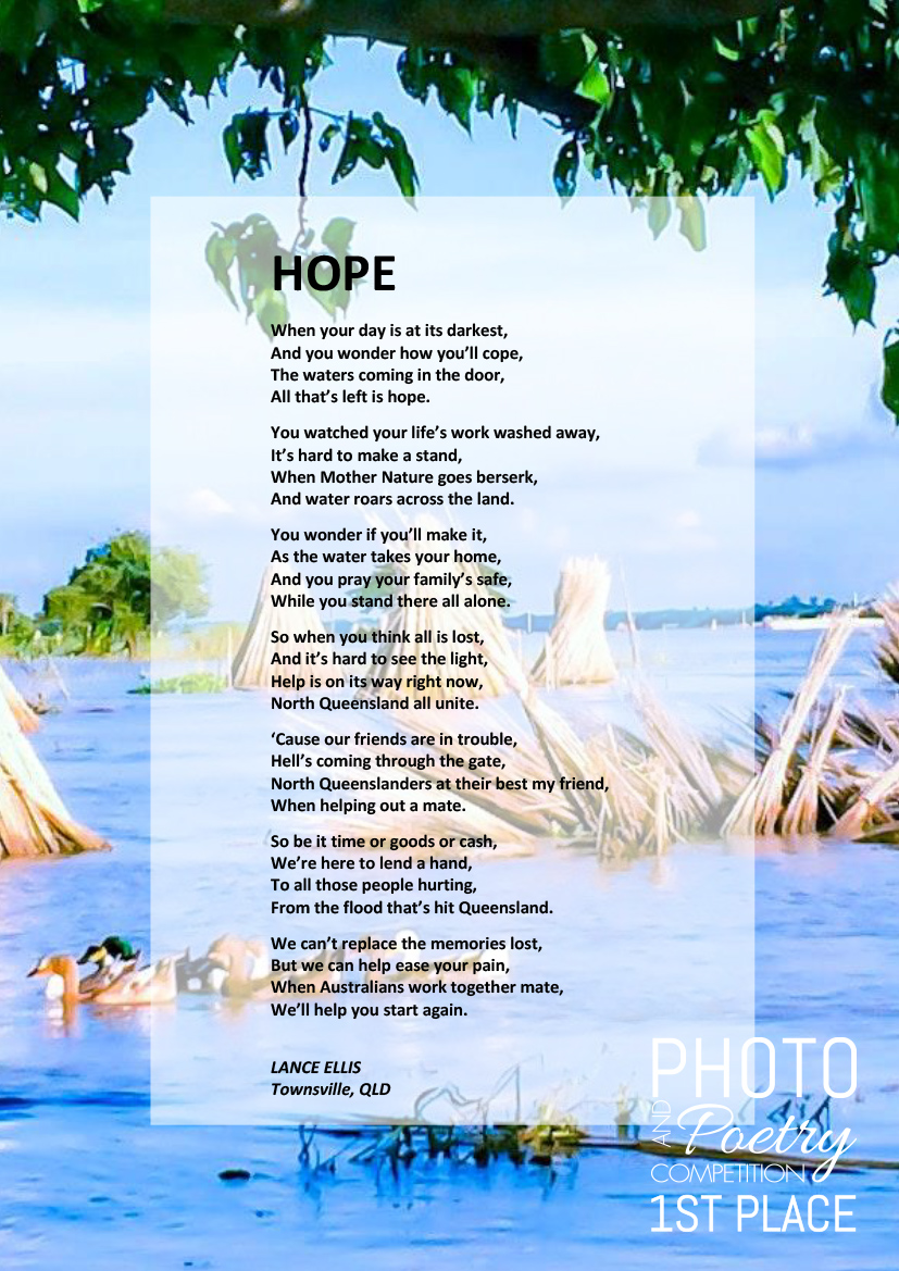 HOPE - LANCE ELLIS, Townsville, QLD
