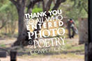 Thank you to all who entered out Photo & Poetry Competition