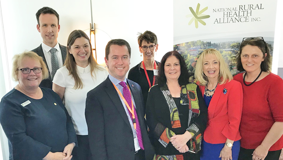 In Canberra this week, representatives of the National Rural Health Alliance and Palliative Care Australia, joined special guests at Parliament House to highlight issues surrounding palliative care in rural and remote Australia.