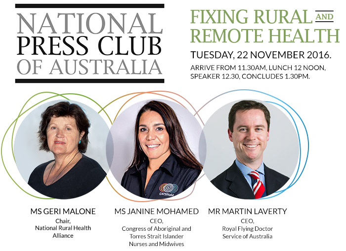 National Press Club of Australia Event