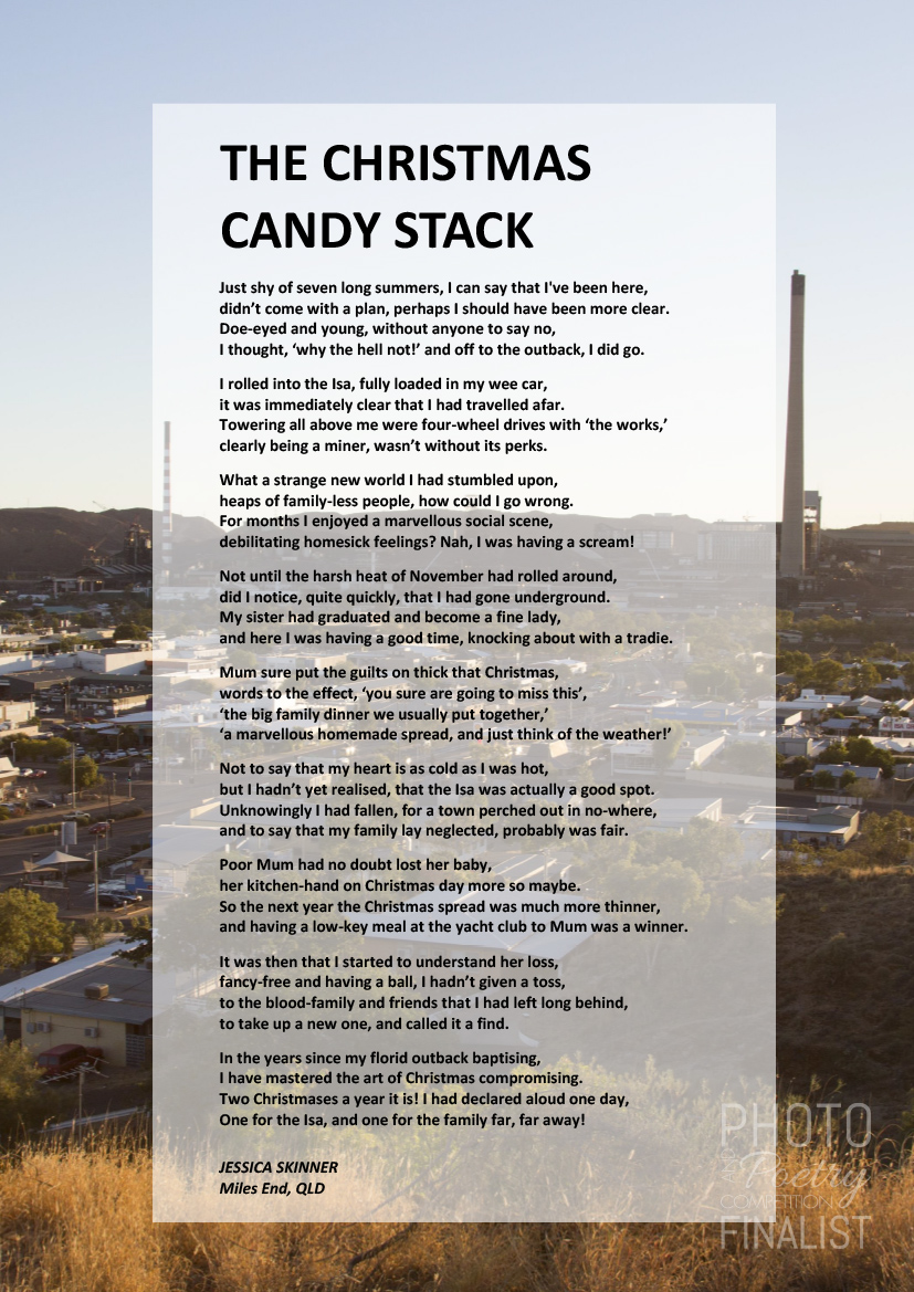 THE CHRISTMAS CANDY STACK - JESSICA SKINNER, Miles End, QLD