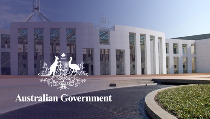 Governement logo and parliament house