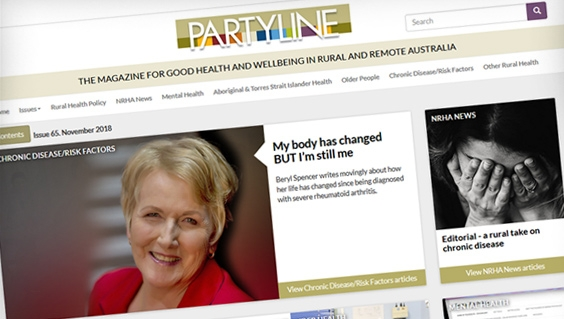 Partyline magazine new issue out now
