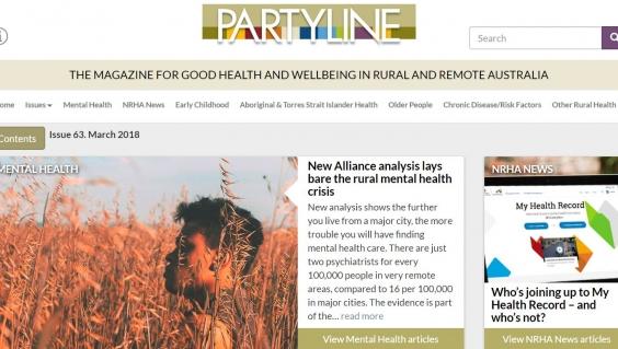 Partyline issue 63 June 2018