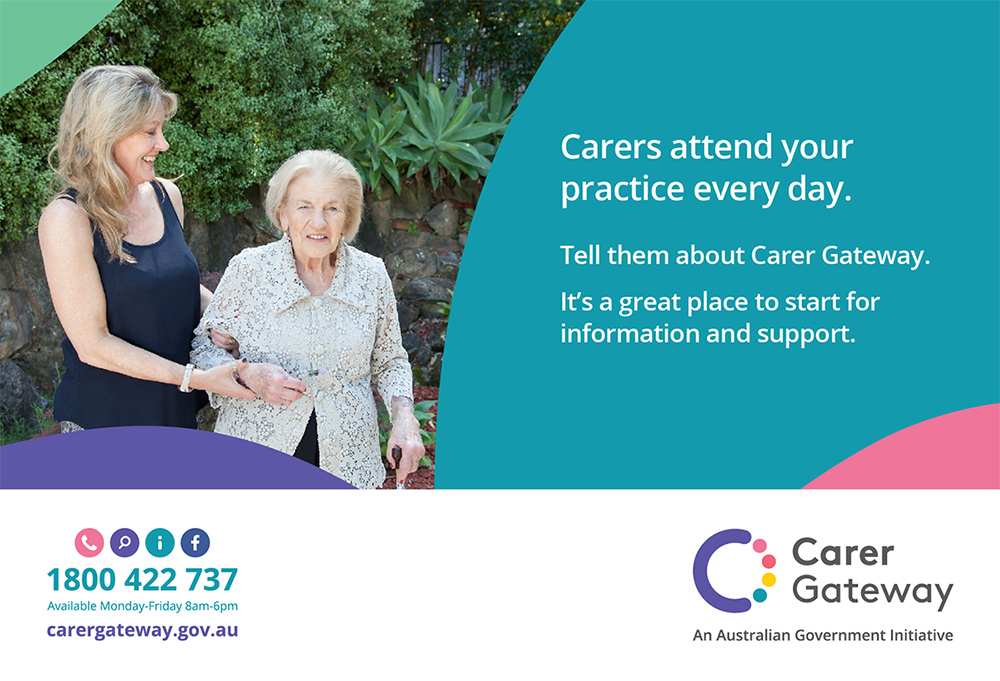 Carers attend your practice every day