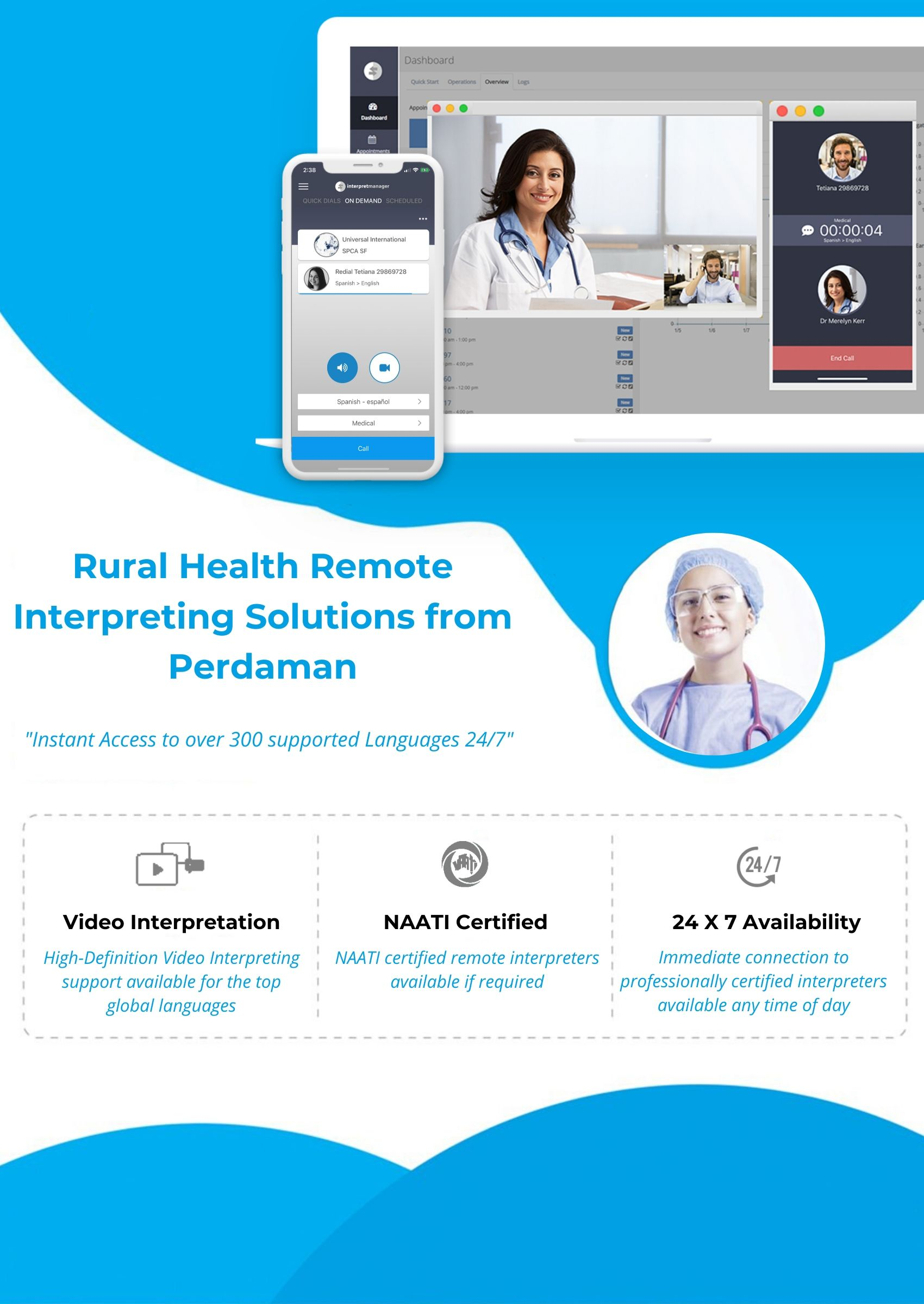 Rural Health Remote Interpreting Solutions from Perdman