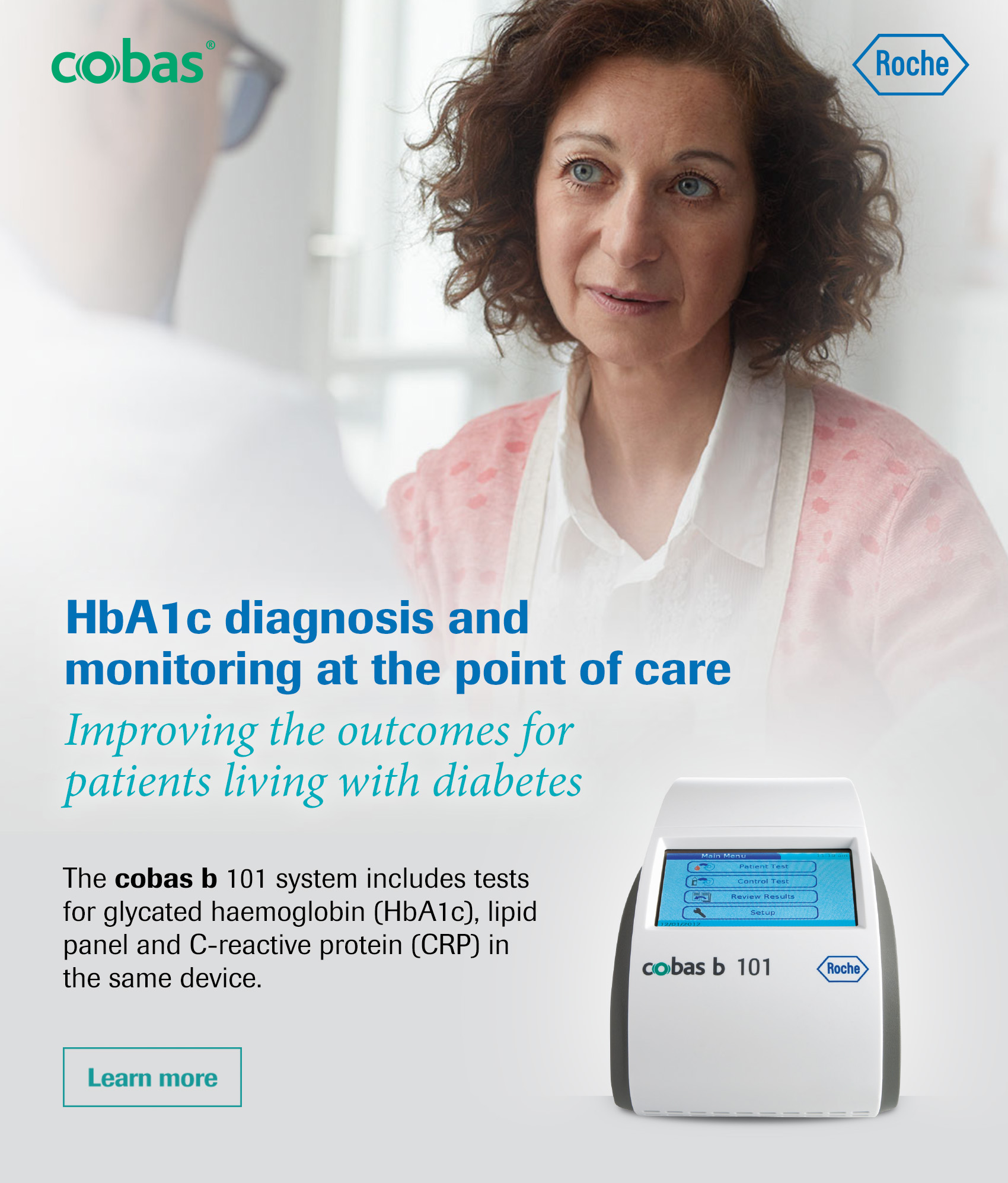 HbA1c diagnosis and monitoring at the point of care Improving the outcomes for patients living with diabetes