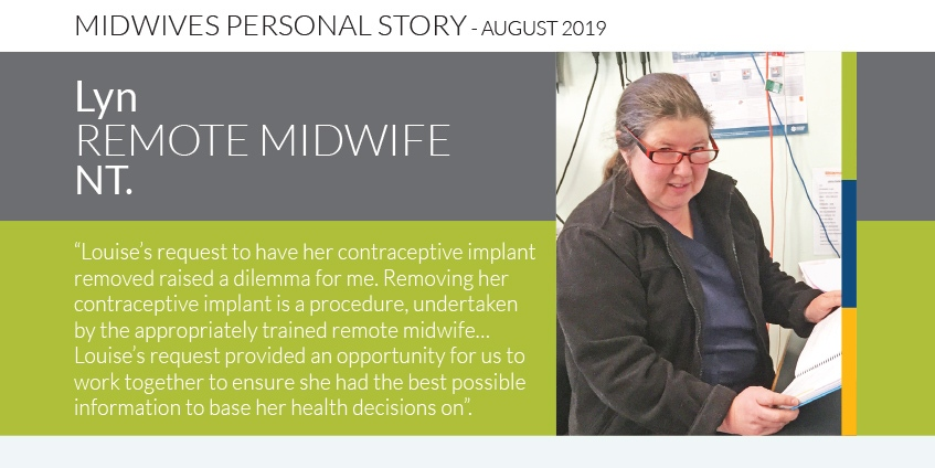 Midwife personal story