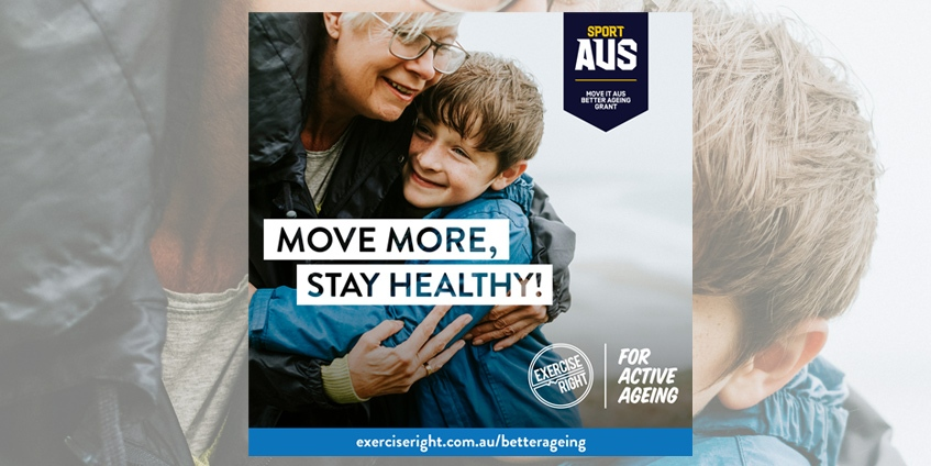 The Exercise Right for Active Ageing project. Image: Exercise & Sports Science Australia
