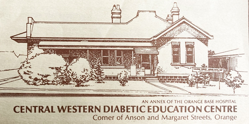 Illustration of the Central Western Diabetic  Education Centre