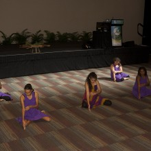 Bidigal Performing Arts created a special atmosphere for the transition to the WONCA Conference.