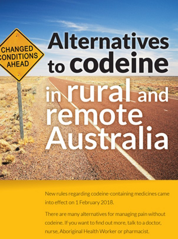 Alternatives to codeine in rural and remote Australia