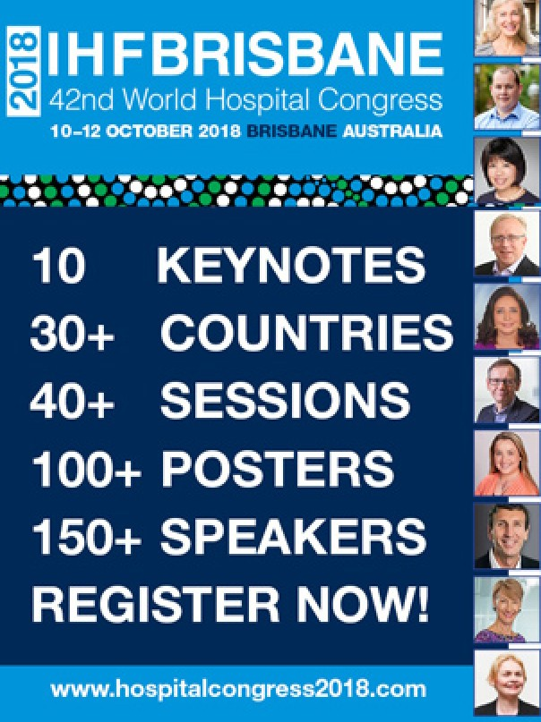 2018 IHF Brisbane 42nd World Hospital Congress