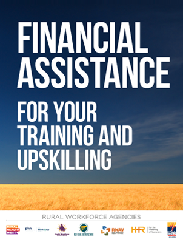 Financial Assitance for your training and upskilling