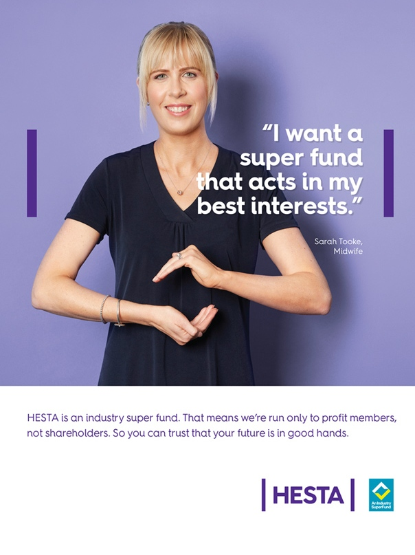 I want a super fund that acts in my best interests - HESTA