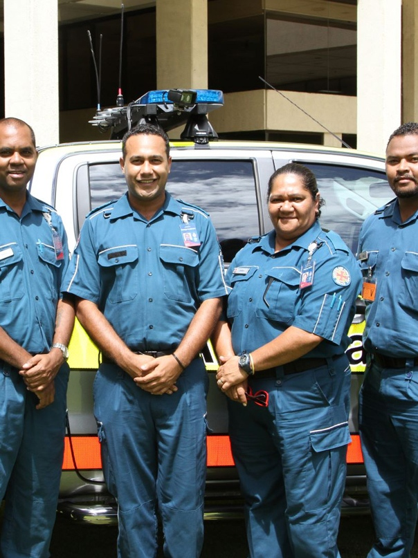 Queensland Ambulance Service paramedics. Photo: Queensland Ambulance Service
