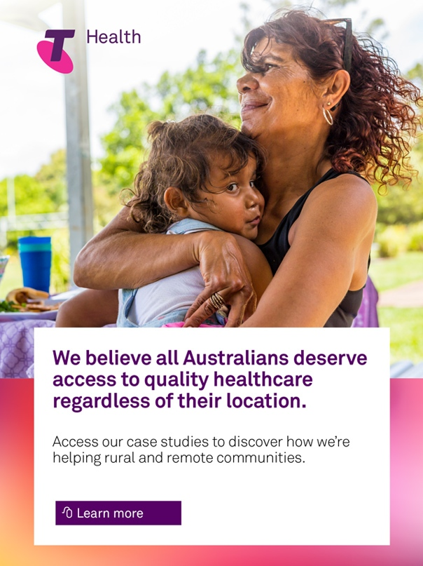 Telstra Health. We believe all Australians deserve access to quality healthcare regardless of their location. Access our case studies to discover how we're helping rural and remote communities. Learn more