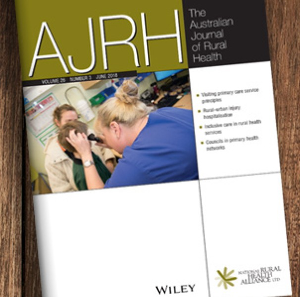 Australian Journal of Rural Health cover