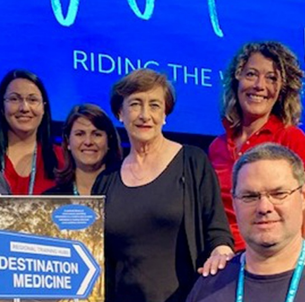The Destination Medicine team. Photo: Destination Medicine