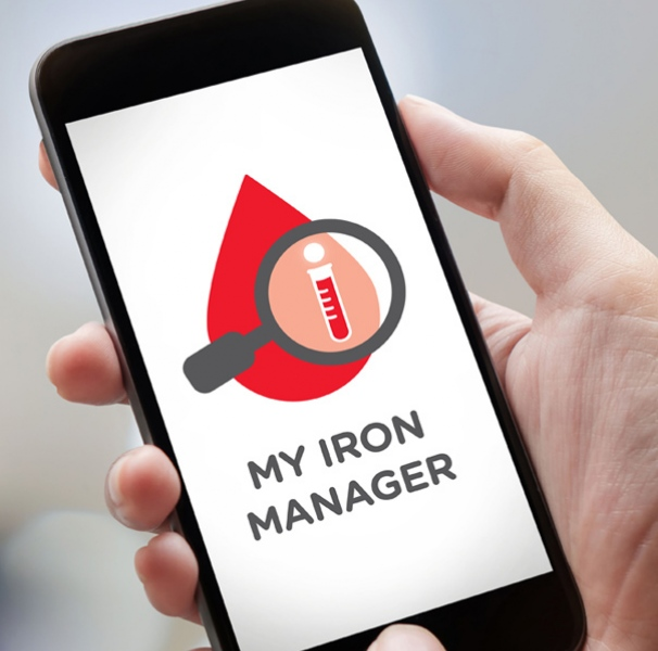 My Iron Manager app on phone