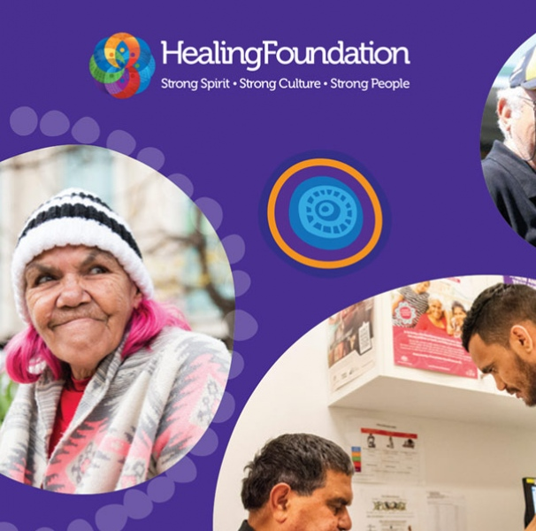 The Healing Foundation's fact sheet cover