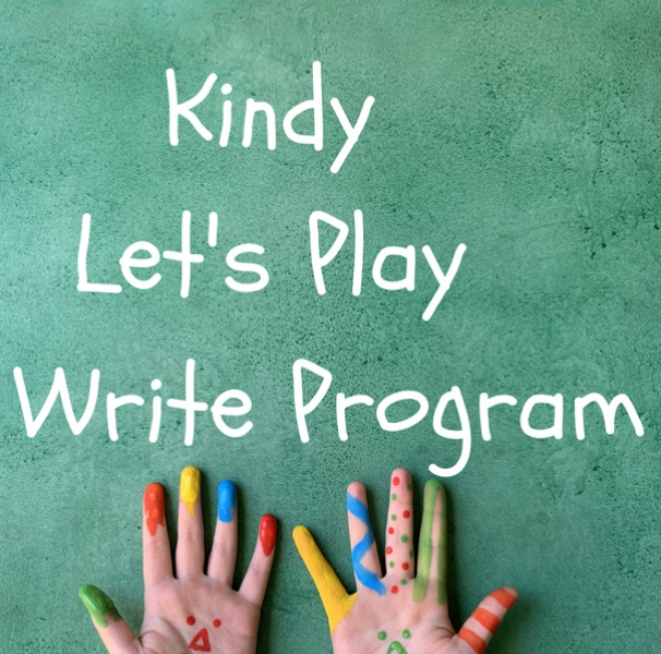 Kindy Let's Play 2 Write Program