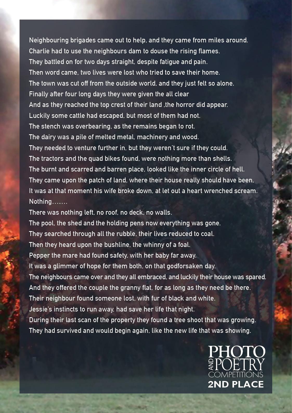 Alexandra Stewart - As the bush Burned - page 2