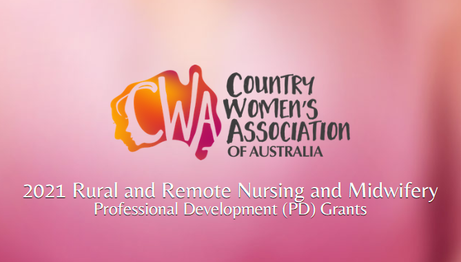 CWAA Rural and Remote Nursing and Midwifery Professional Development (PD) Grant 2021