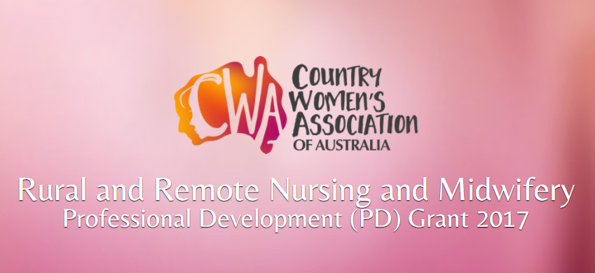 CWAA Rural and Remote Nursing and Midwifery Professional Development (PD) Grant 2017