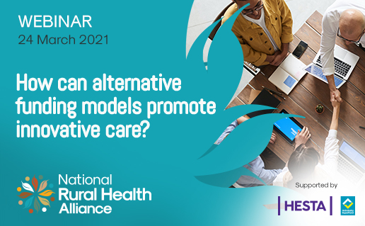How can alternative funding models promote innovative care?