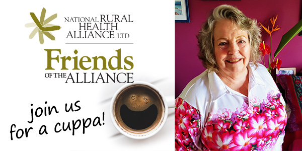 Join us for a cuppa - Lynne Strathie