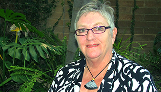 Pauline Glover, re-elected as Chair of Friends.