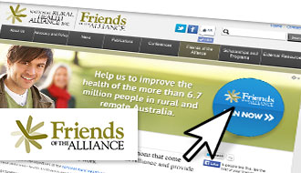 Joining Friends is now easier than ever! Join online today!
