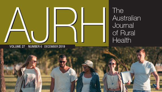 AJRH cover