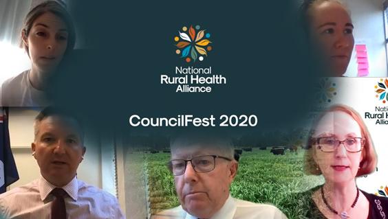CouncilFest 2020 video screen shots