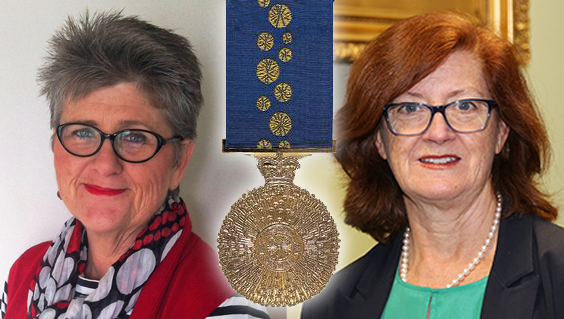 Country Women's Association of Australia President, Tanya Cameron and Dr Jennifer Chambers, who represents the Royal Australasian College of Surgeons – Rural Surgery Section