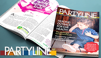 Partyline new issue out now!