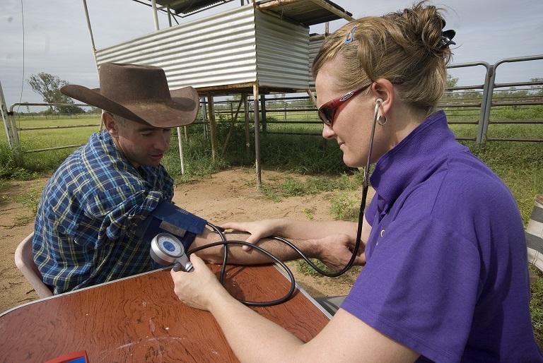 Remote Area Nurse Vanessa Page, Noonkanbah Pastoral Station