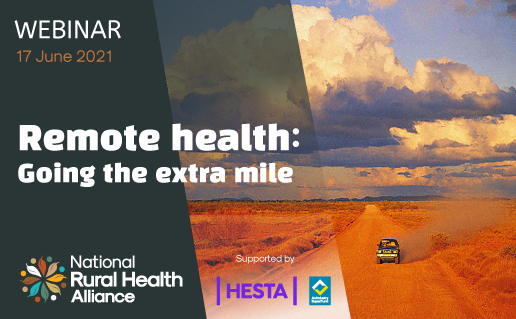 Remote health:Going the extra mile