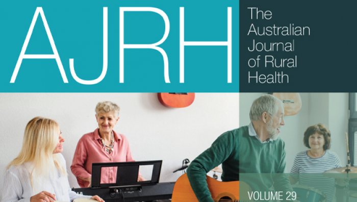 AJRH Australian Journal of Rural Health Feb 2021
